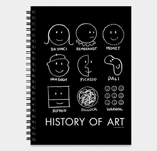 <b>MoMa History of Art Sketchbook </b>