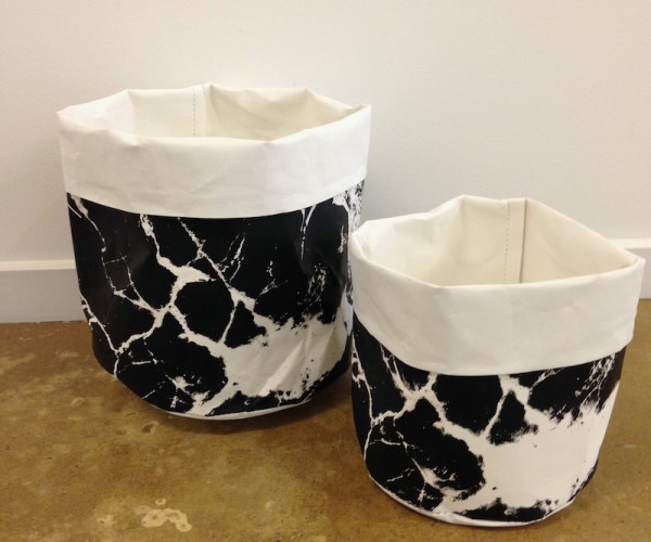 Marbled Paper Baskets