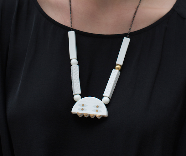 <b>Abake Ceramic Necklace</b><br>$59