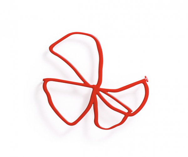Bloom Brooch - Red